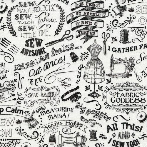 Gail Sewing Chalk Words C3417