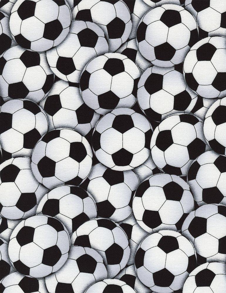 Gail Packed Soccer Balls C4820-White