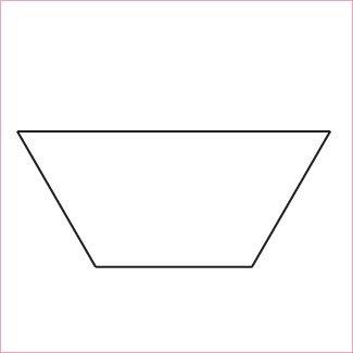 Half Hexagon Ruler 10