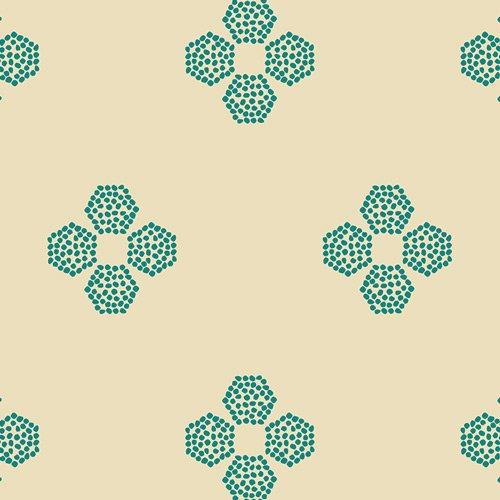 Indie Folk Droplet Petal Malachite IFL-46303