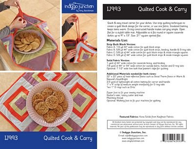 Quilted Cook and Carry IJ993