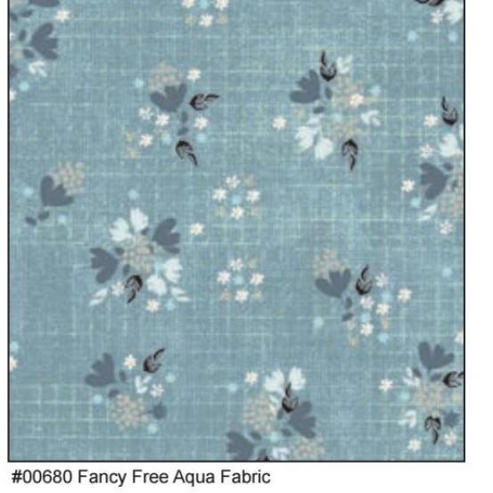 Farmhouse Fields Fancy Free Aqua 00680
