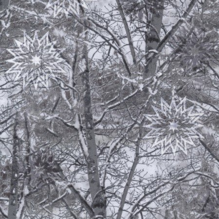 The Forever Collection Snowy Branches JN-C3711-Pewter