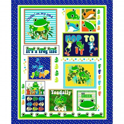Toadally Cool Panel 9827GL-99