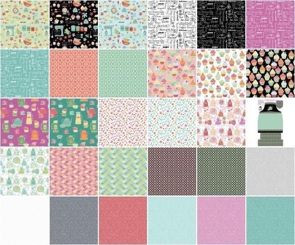 Kitchen Love 10 Squares LC-KLV10PK