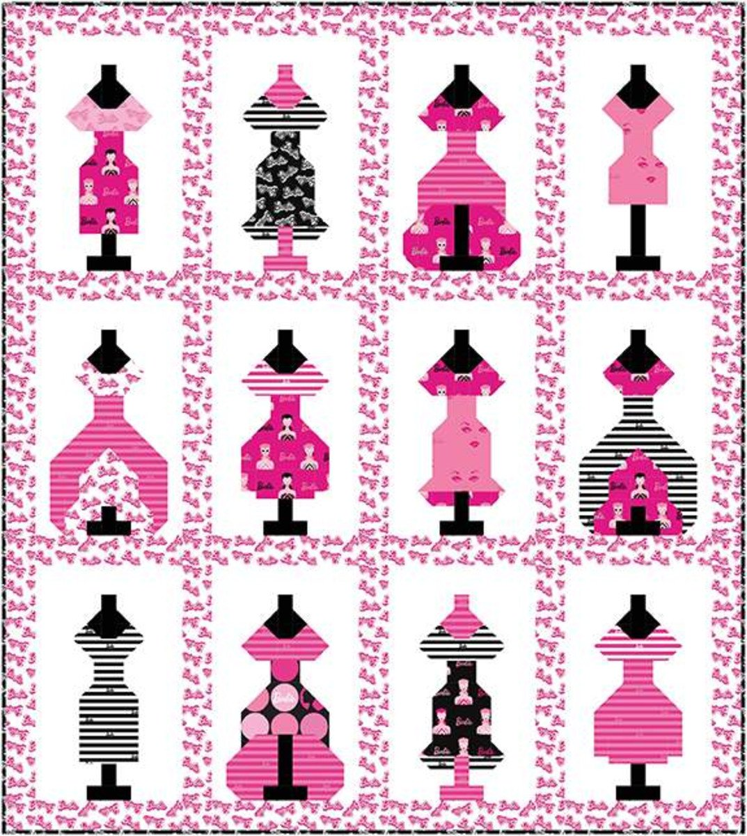 Dress Up Quilt Boxed Kit