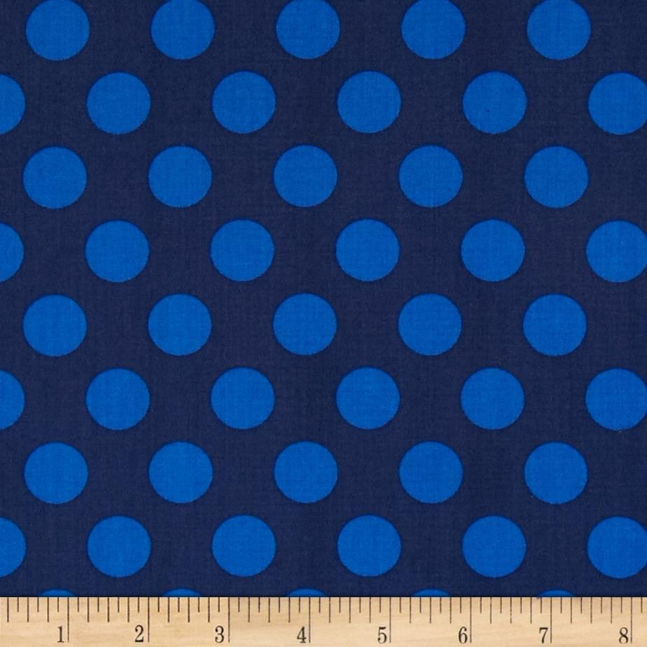 The Singin' Jumbo Dots in Navy & Royal 4141207-01