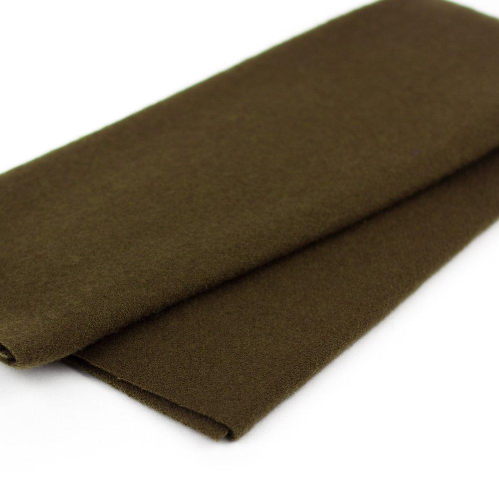 Merino Wool Fabric 18 x 24 - LN51 - Chestnut