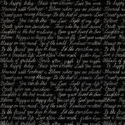 Farmhouse Fields Love Notes Black 00690