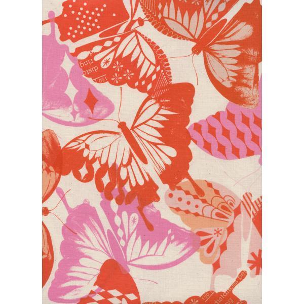 Cotton and Steel Flutter Orange M0058004