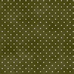 Beautiful Basics Classic Dots Olive Green 609MG4