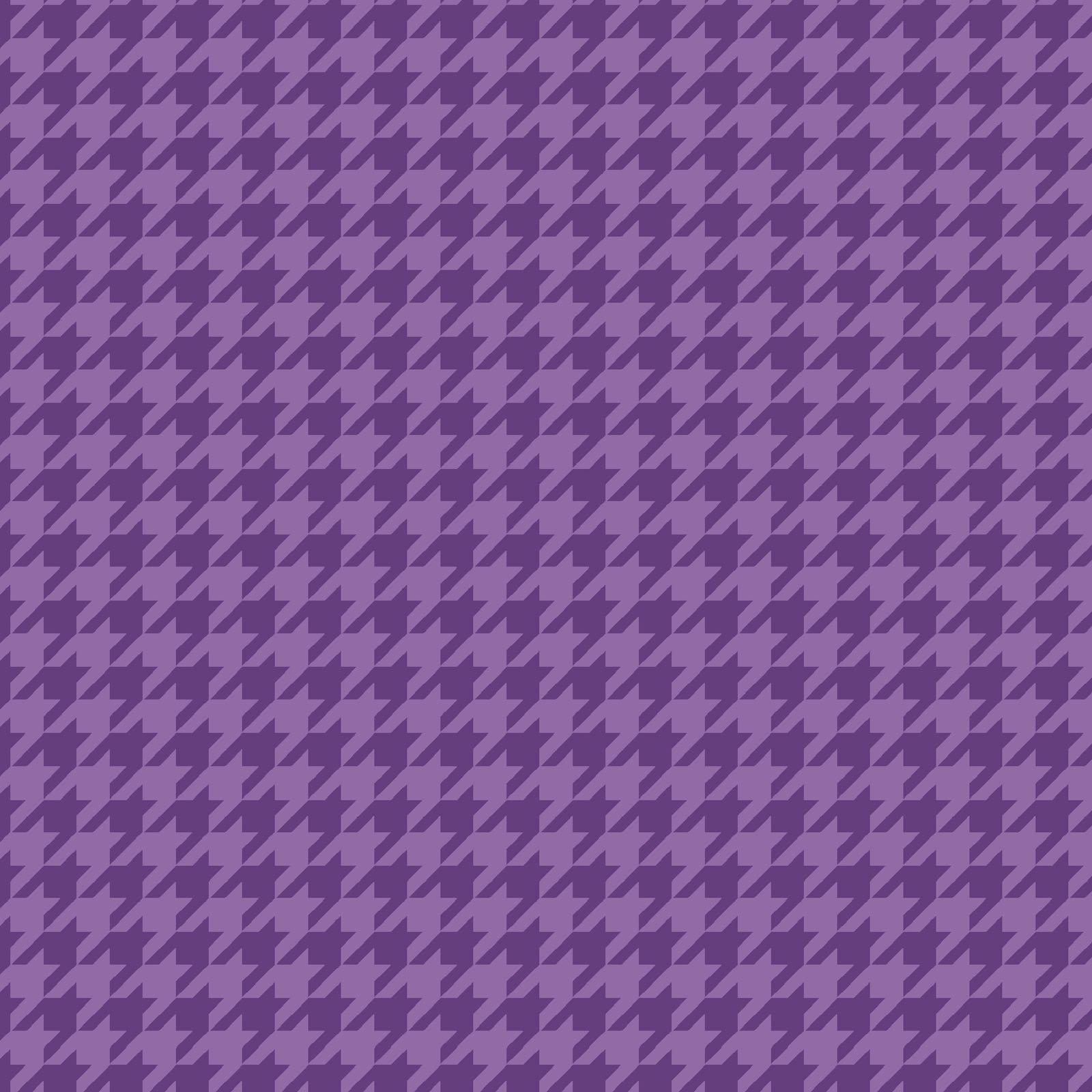 KimberBell Basics Violet Houndstooth 8206M-VV