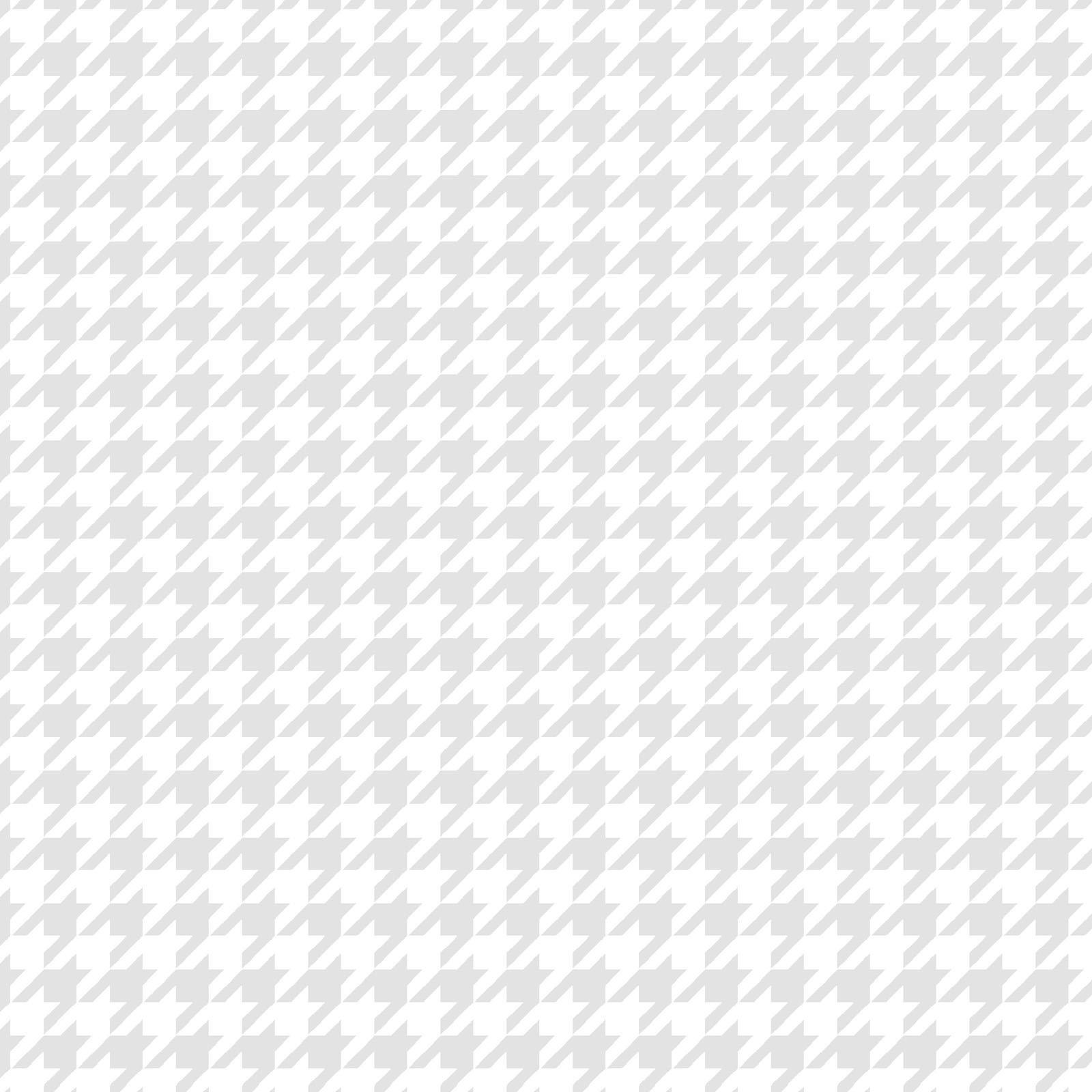 KimberBell Basics White on White Houndstooth 8206M-WW