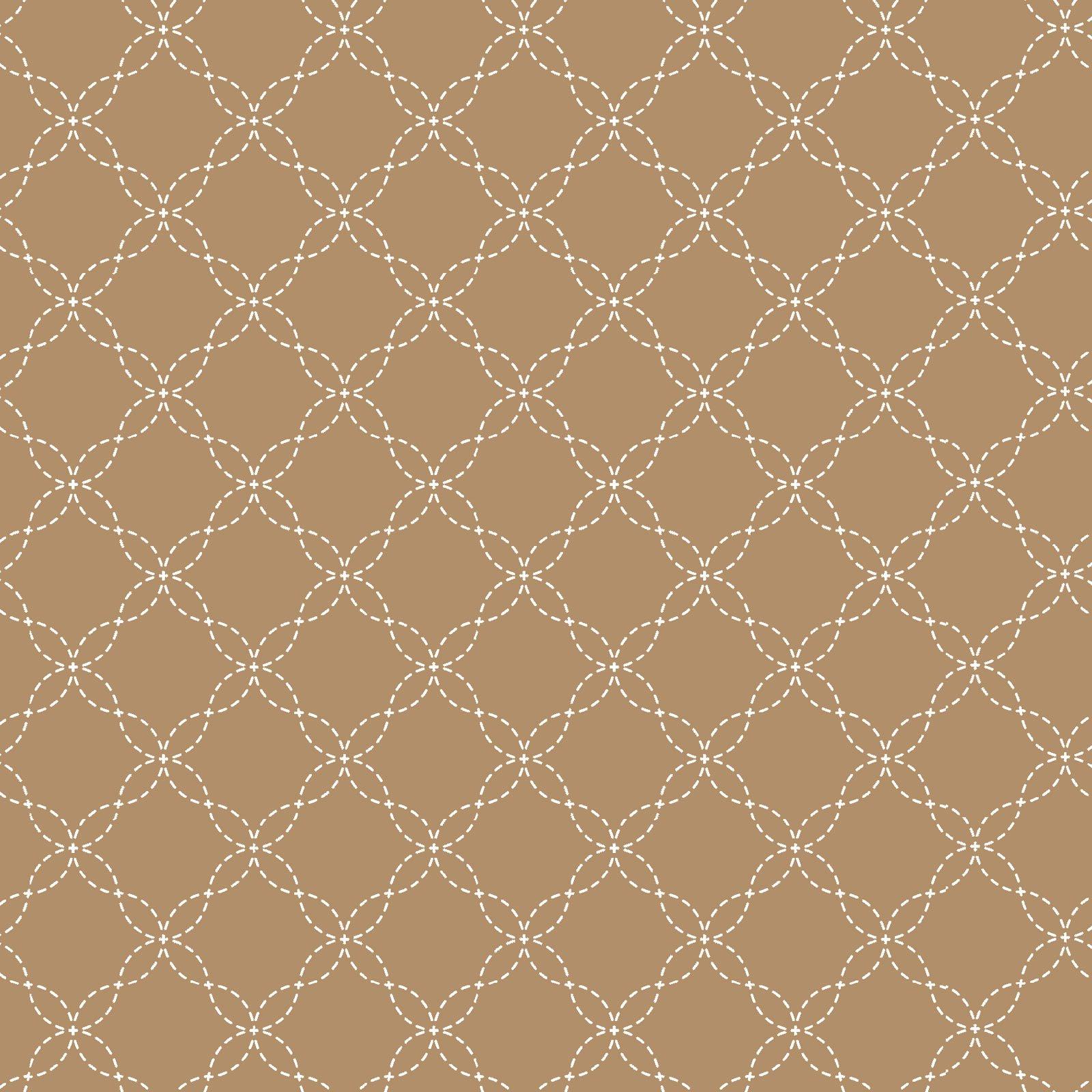 KimberBell Basics Brown Latttice 8209M-A