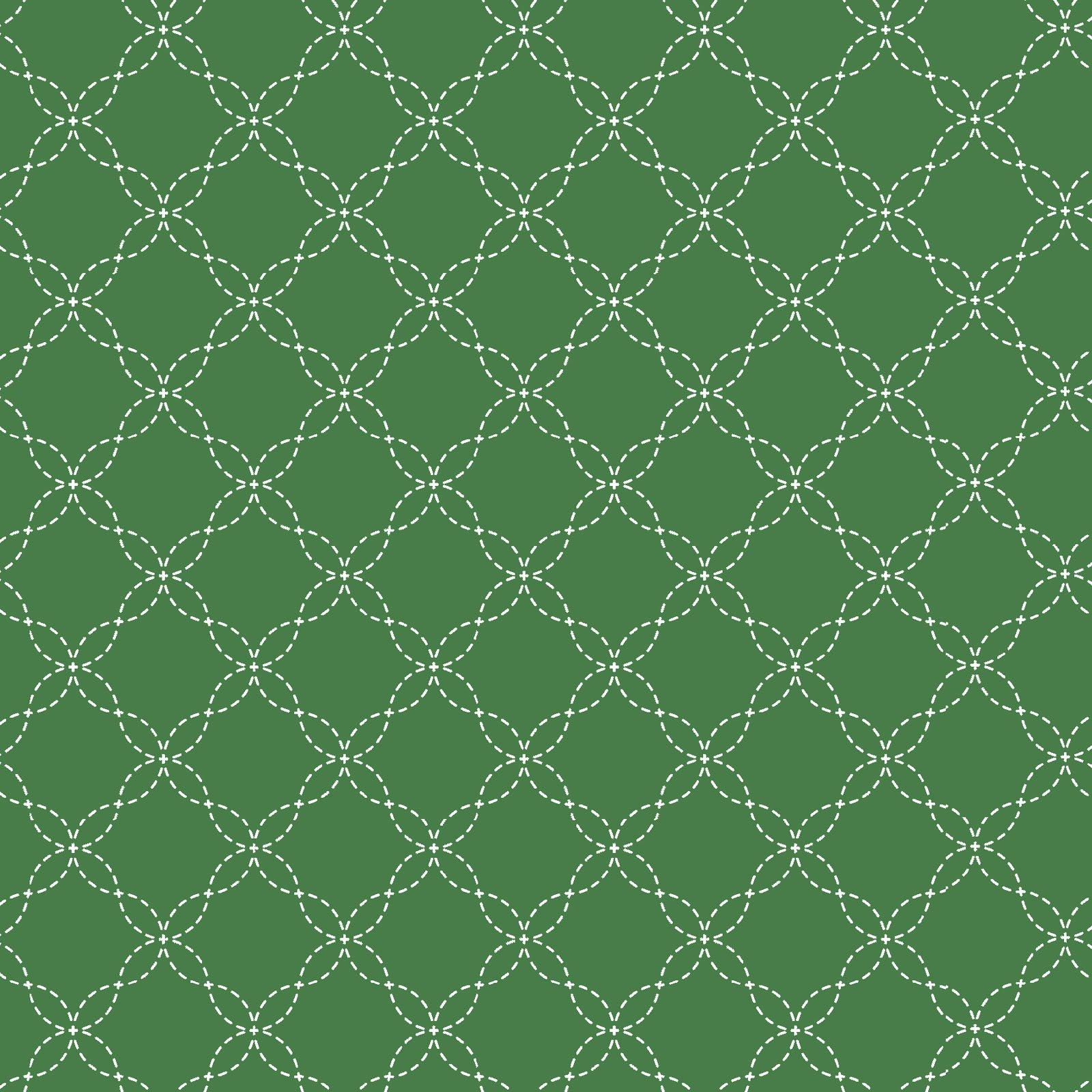 KimberBell Basics Green Latttice 8209M-G2