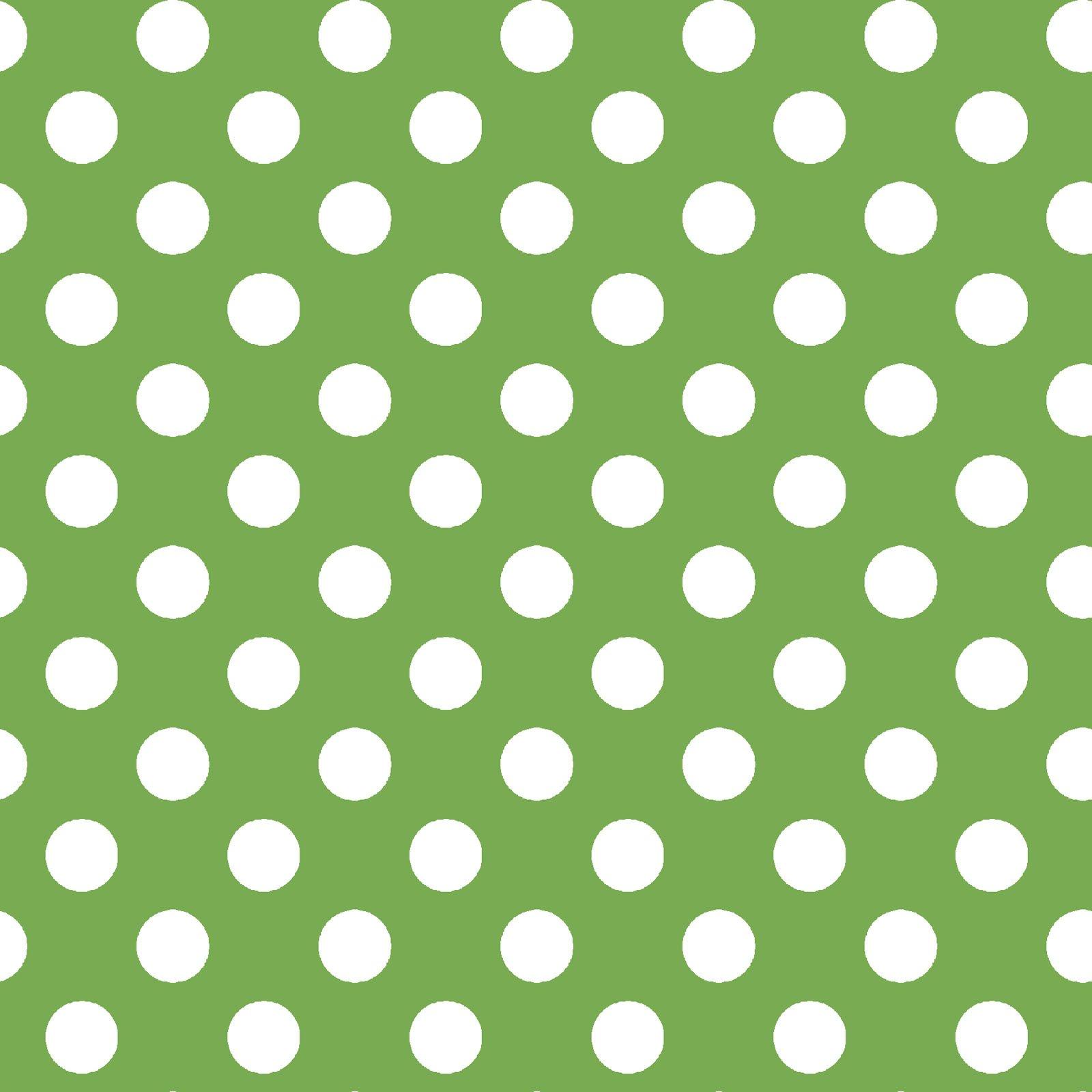 KimberBell Basics Green Dots 8216M-G