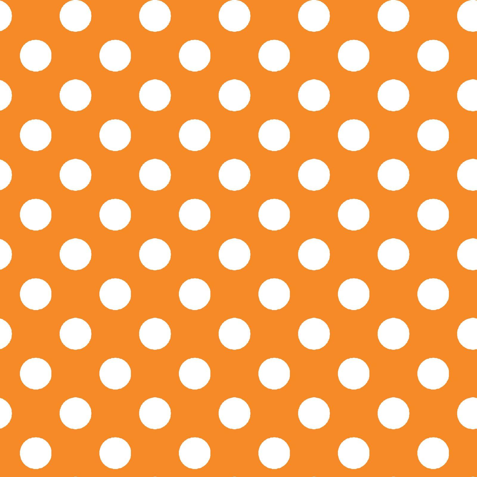KimberBell Basics Orange Dots 8216M-O