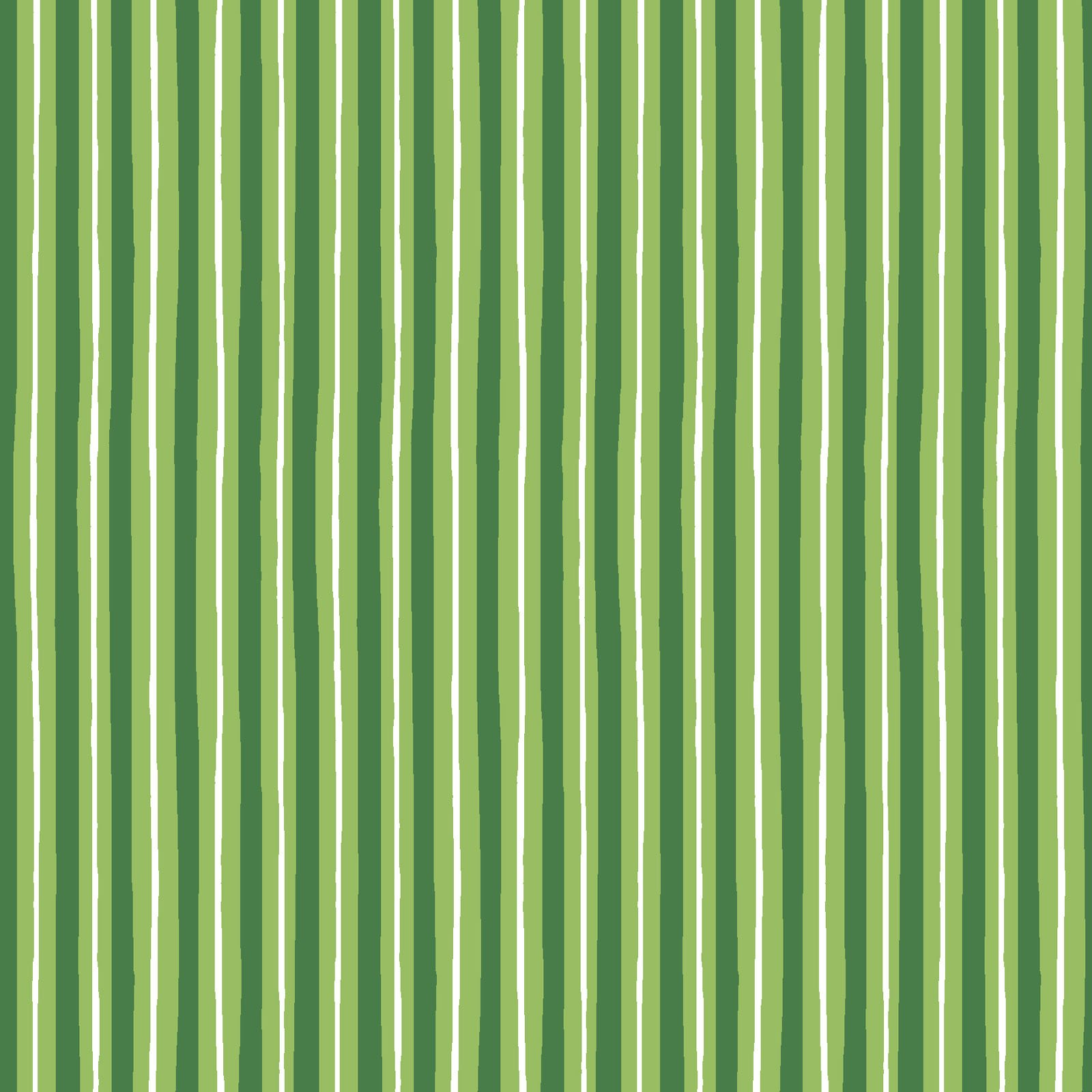 KimberBell Basics Green Little Stripe 8242M-G