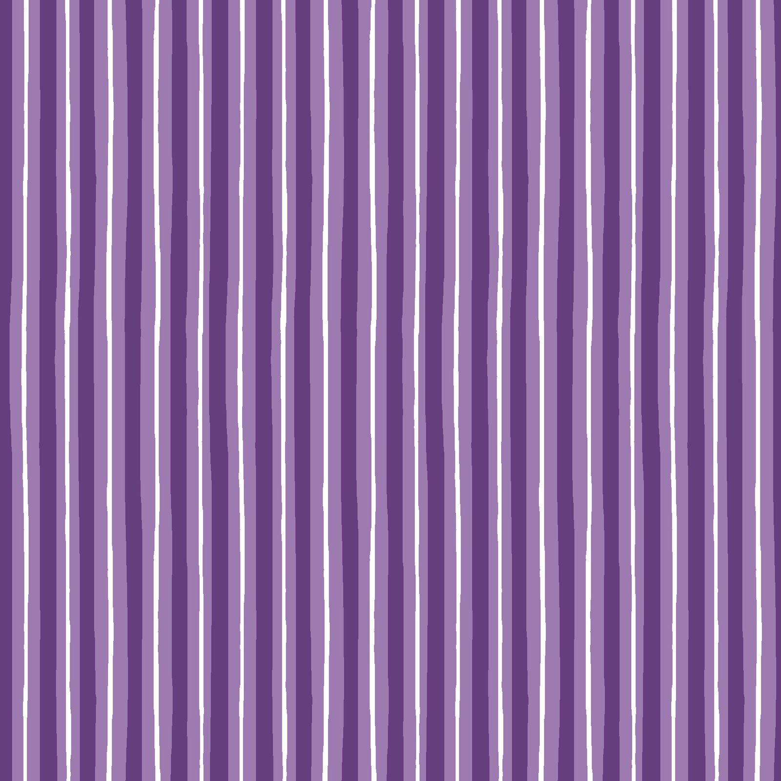 KimberBell Basics Violet Little Stripe 8242M-V