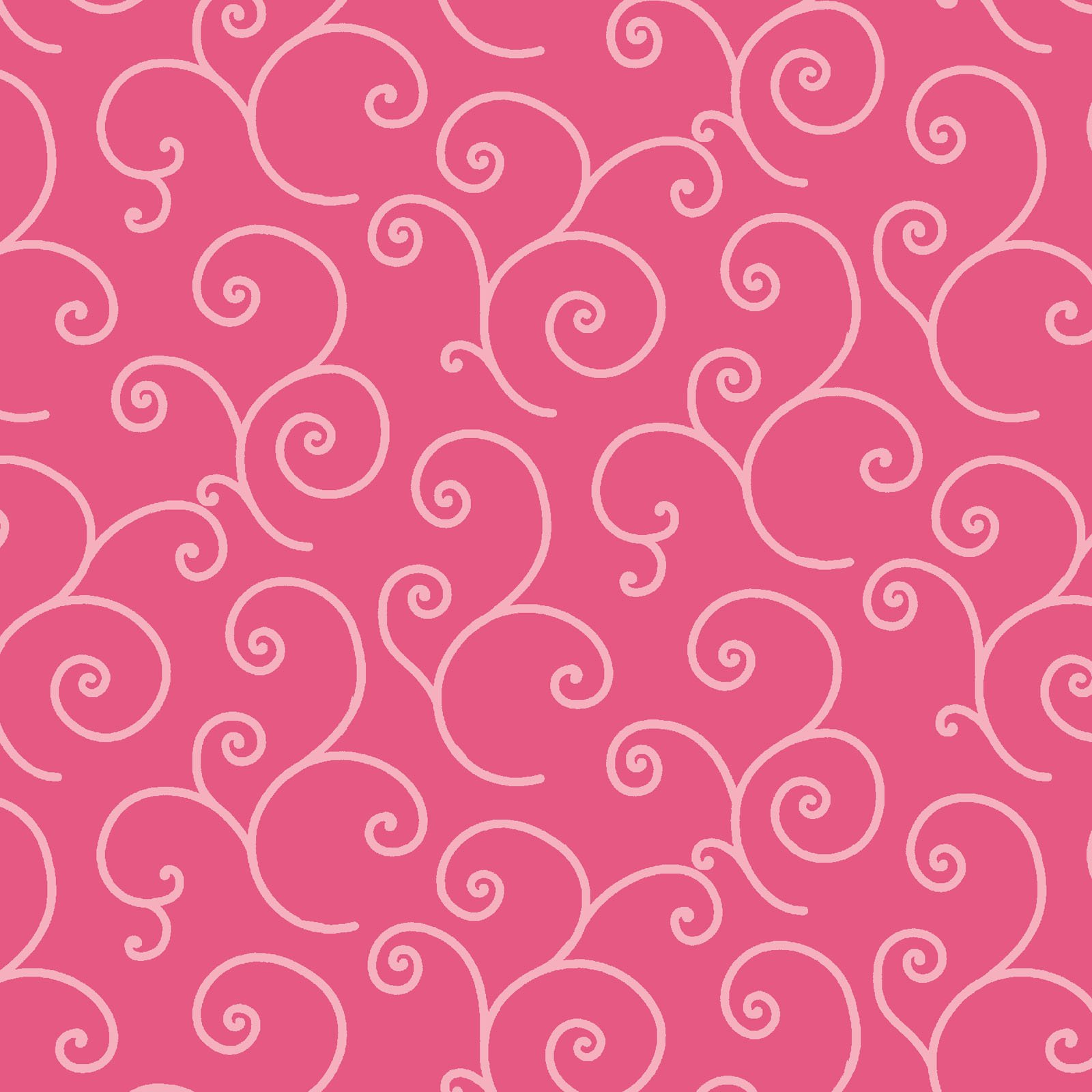 KimberBell Basics Pink Scroll 8243M-PP