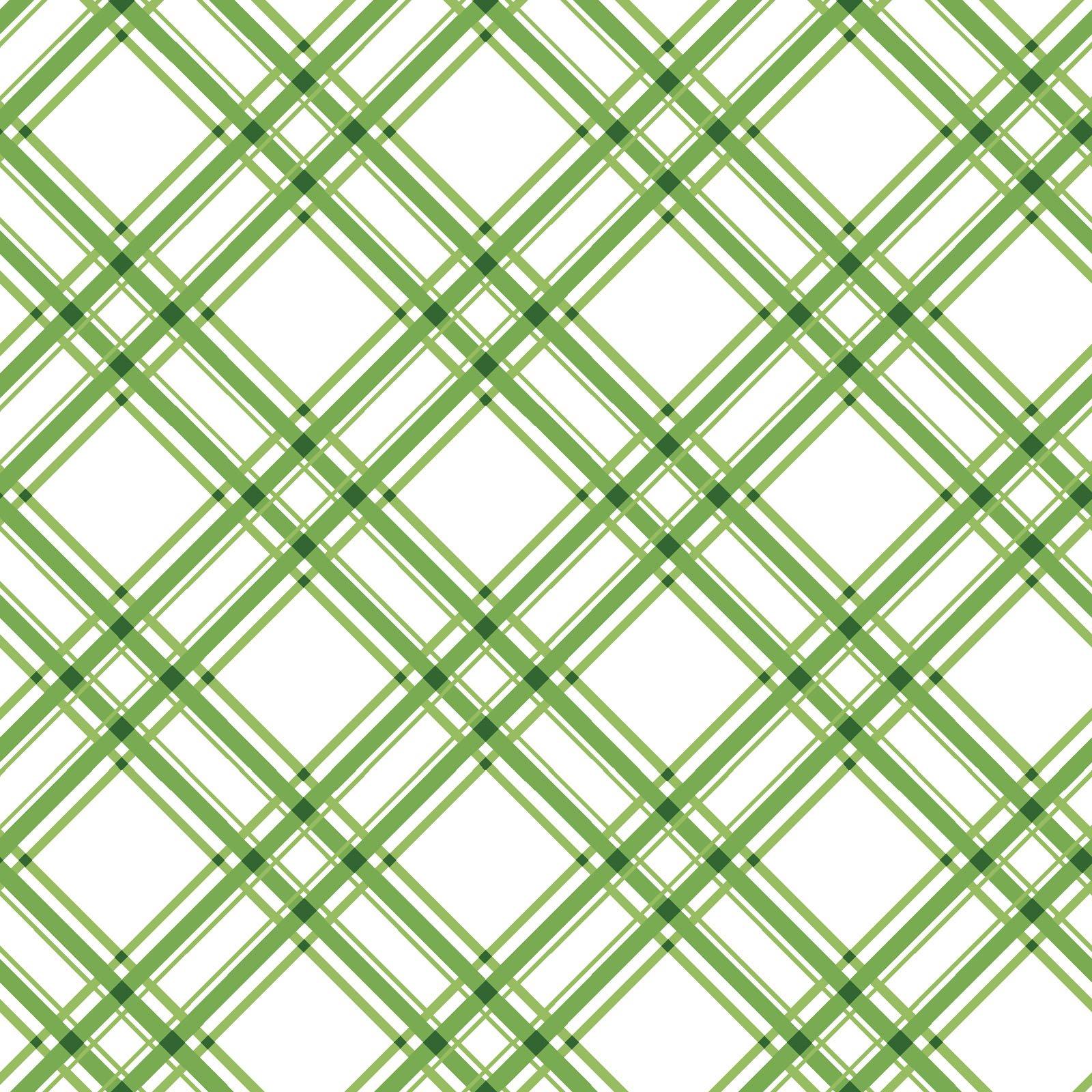 KimberBell Basics Green Diagonal Plaid 8244M-G
