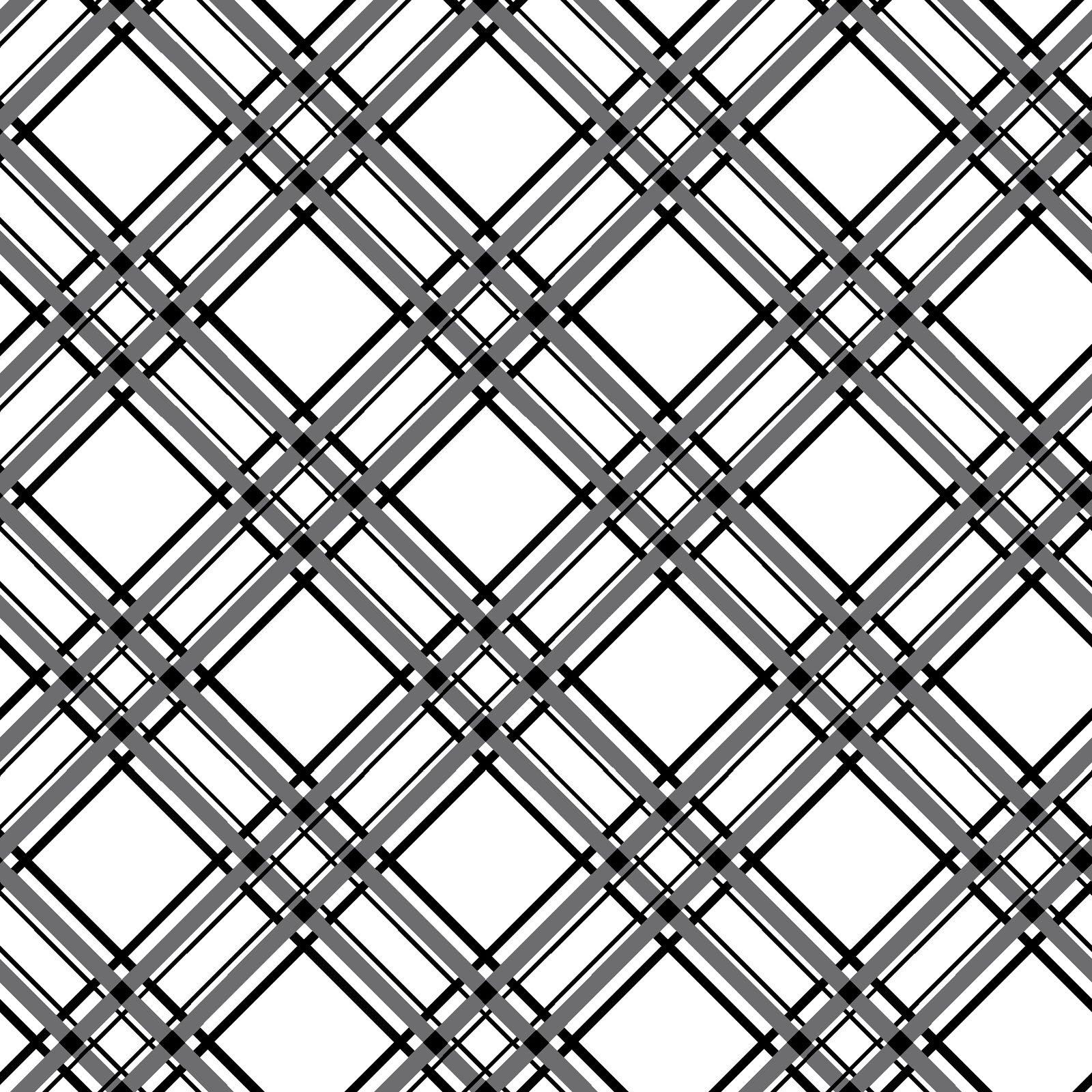 KimberBell Basics Black Diagonal Plaid 8244M-J