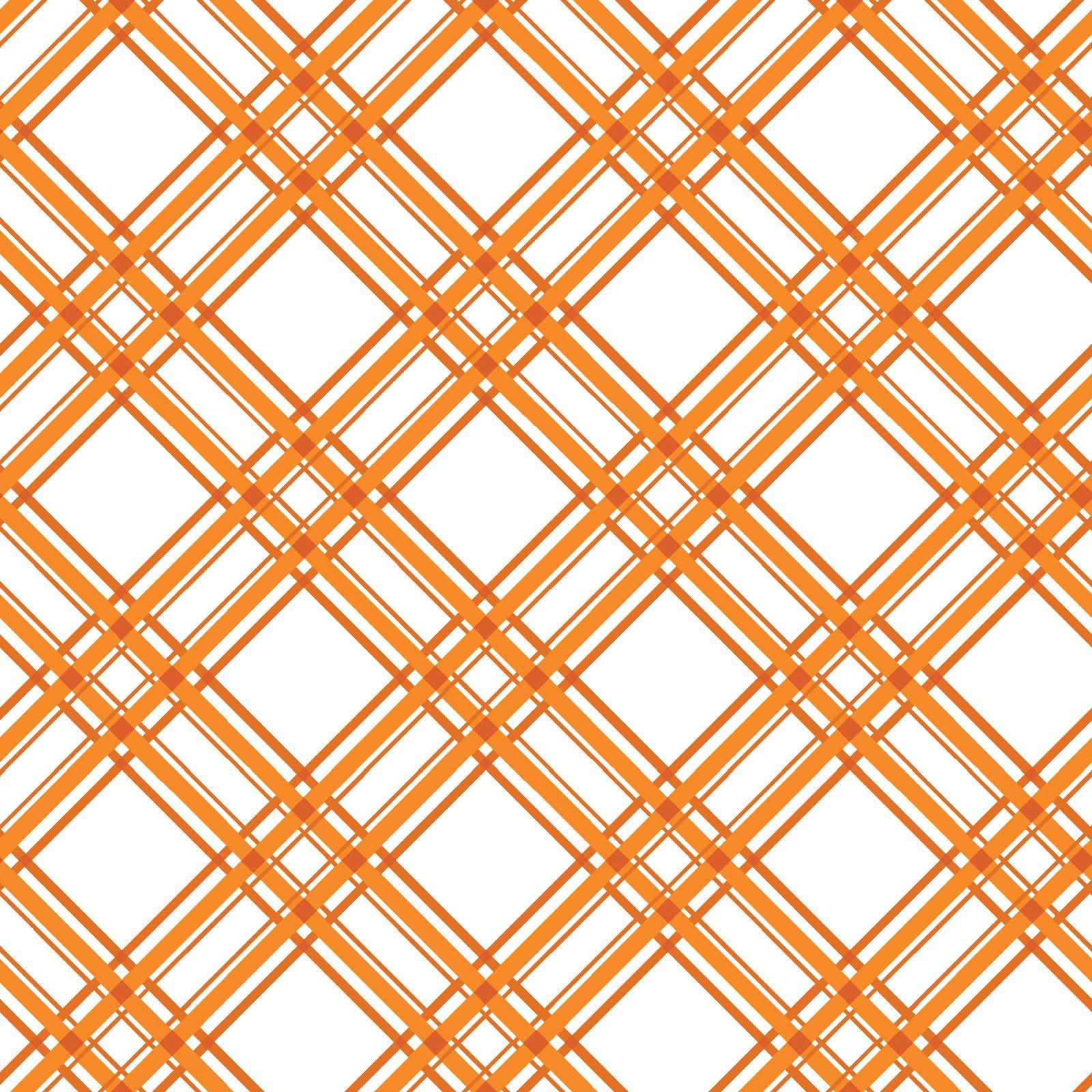 KimberBell Basics Orange Diagonal Plaid 8244M-O