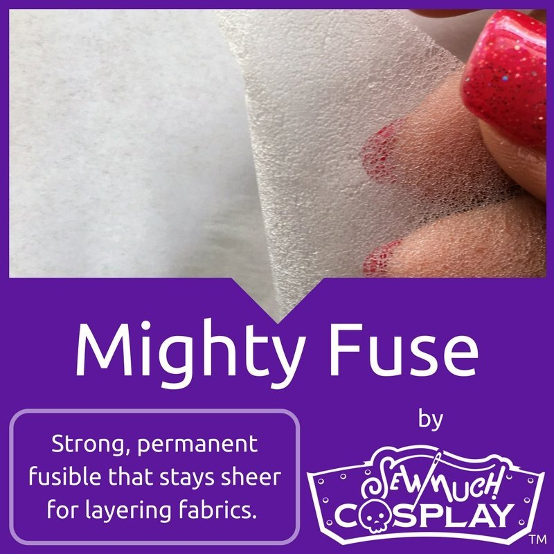 Mighty Fuse - Fusible Permanent Web 12inx5yds