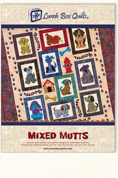 Mixed Mutts Pattern CD  QP-MM-DD