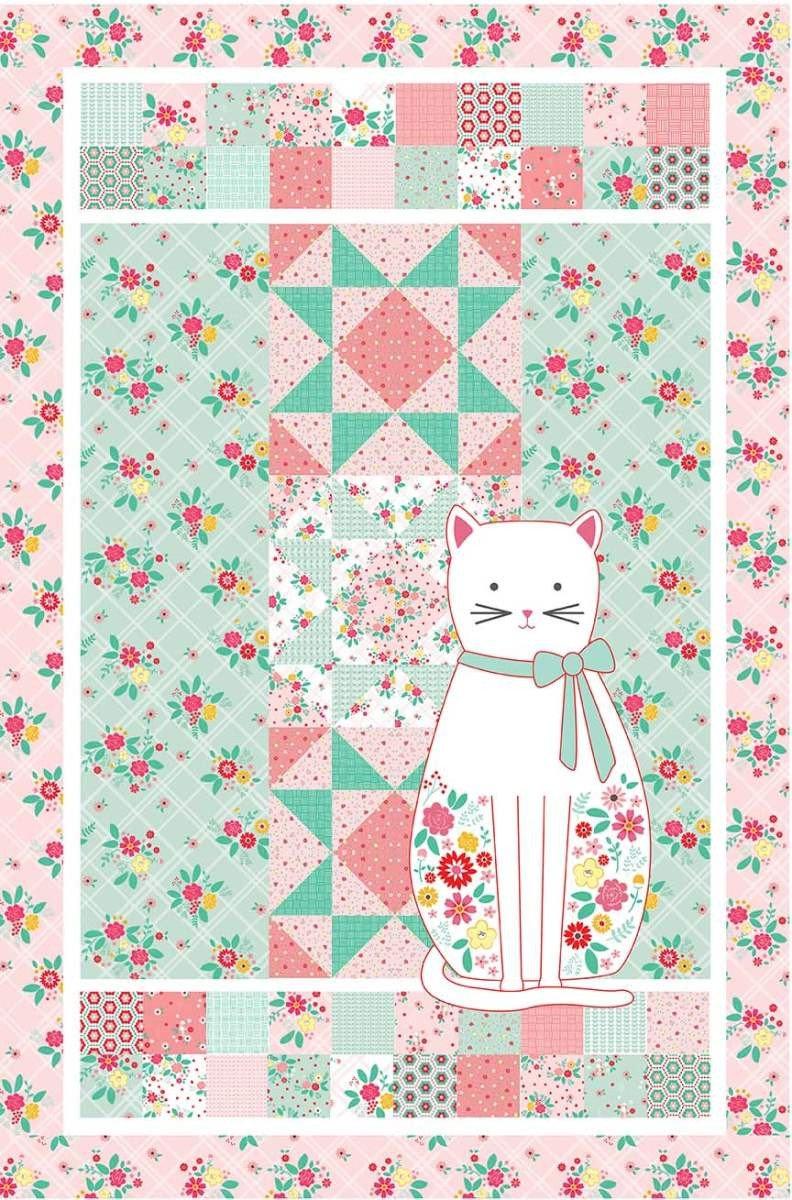 Beverly McCullough Daisy's Garden Panel Quilt Pattern
