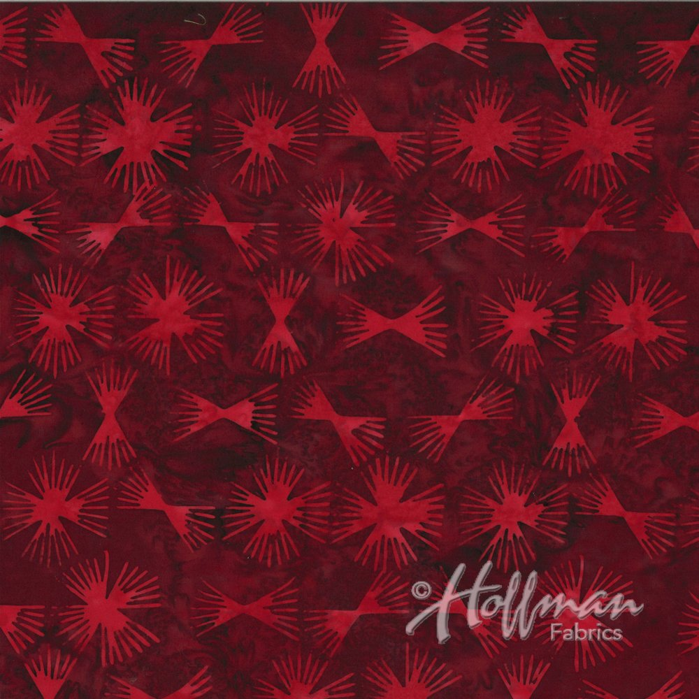Bali Batik Red Velvet P2933-568