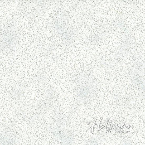Winter Blossom Frost/Silver P7618-113S