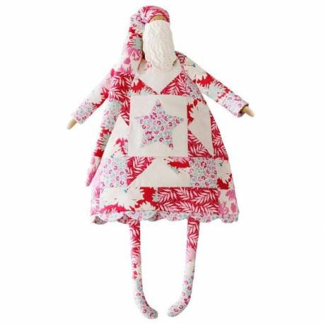 Cottage-Kit Patchwork Santa Large TIL481600