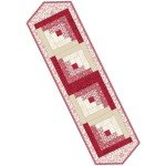 The Little Things Log Cabin Table Runner Pod - POD-01-TLT
