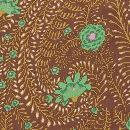Kaffe Fassett Ferns Brown PWGP147.BROWN