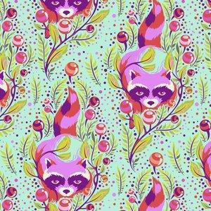Tula Pink - Raccoon Poppy PWTP037.POPPY
