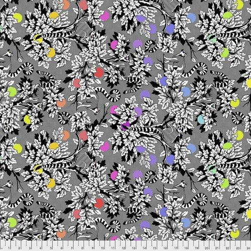Tula Pink Linework -  Lemur Me Alone - INK