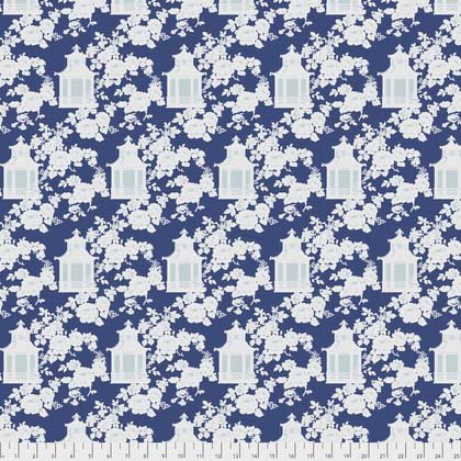 Gazebo Toile - Blue PWTW151BLUEX