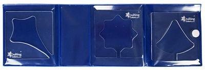 Kit 3 Rulers Christmas 5mm K35CHR