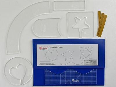 Kit 6 Rulers 5mm KIT6-5MM