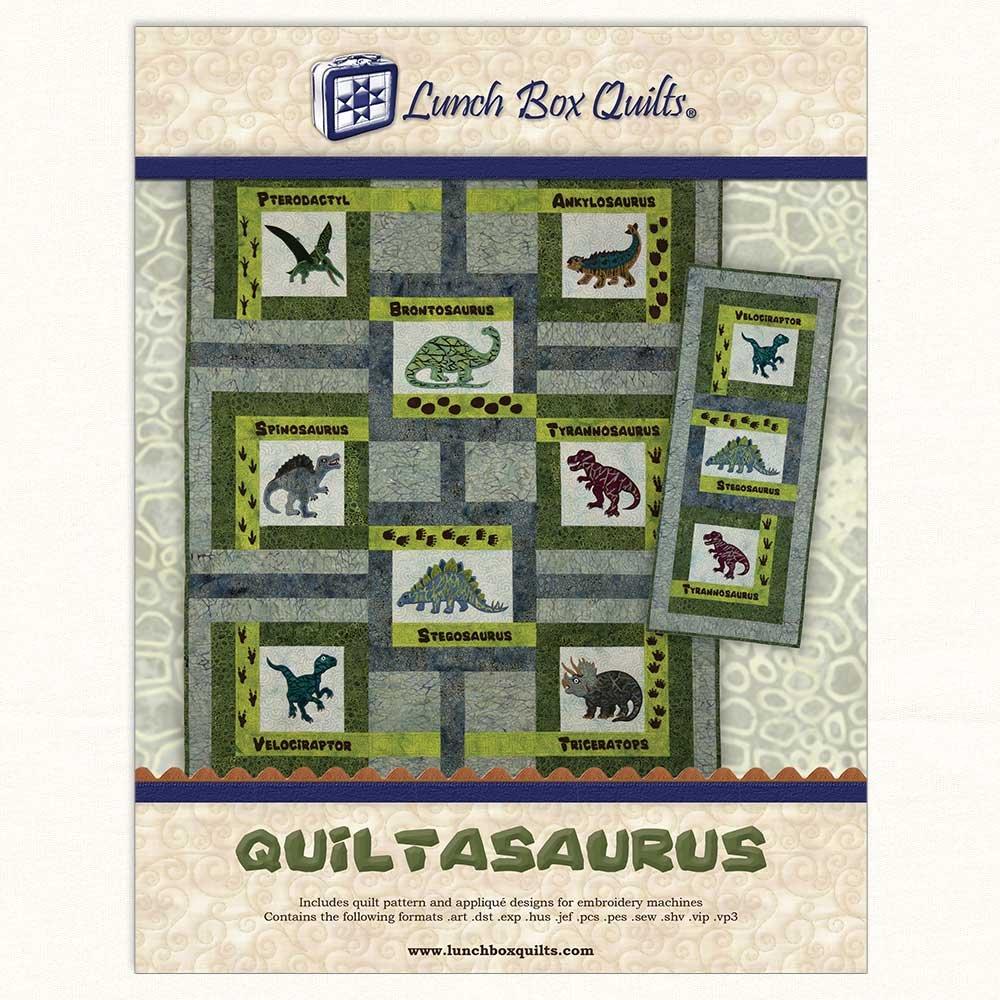 Quiltasaurus Pattern CD QP-QS-DD