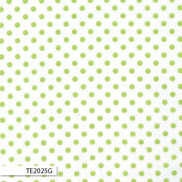 The Linen Cupboard Sally Spot Green TE2025G