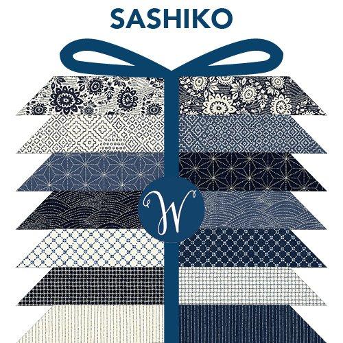 Sashiko Fat Quarter Bundle