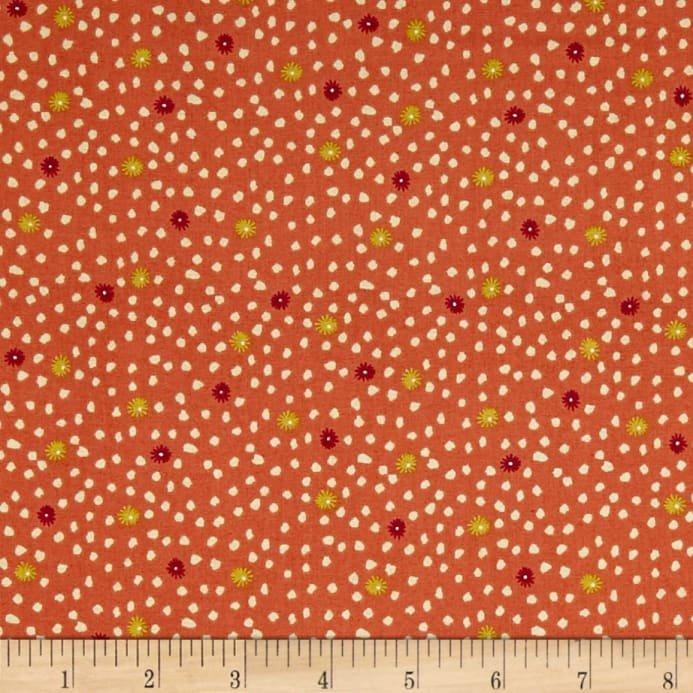 Sundance Flower Spot Orange 1926-N