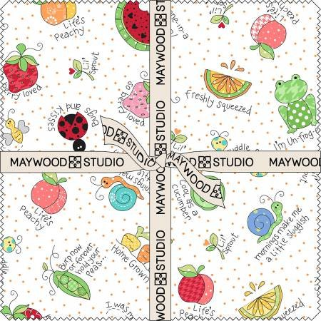 Lil Sprout Flannel 10 Squares SQ-MASLSF