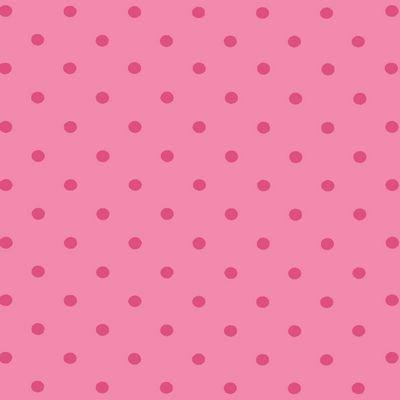 Jersey Knit Print - Avalana Dots Rose Pink ST19-053-V10.9