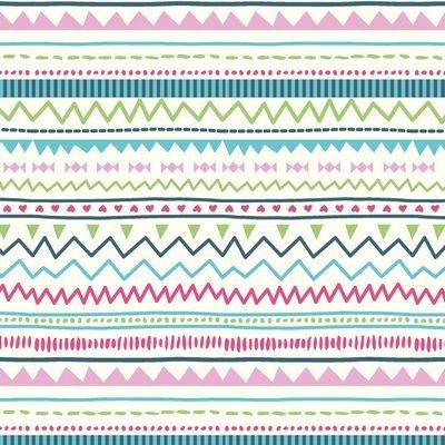 Jersey Print- Stripes Multi ST19-119-V11