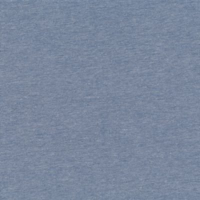 Jersey Knit Solid - Melange Dusty Blue ST20-151-V11