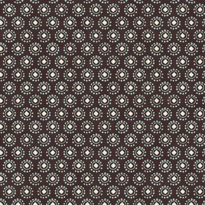Savana- Circles Squares Dots-Brown ST4500-318-V12