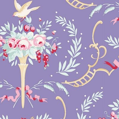 Old Rose Birdsong Blue TIL100215-V11